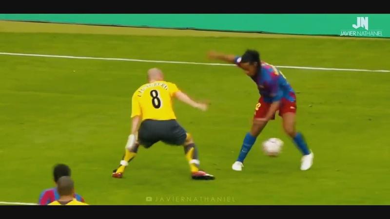 Рональдиньё Ronaldinho Ритмичная музыка и быстрый дриблинг