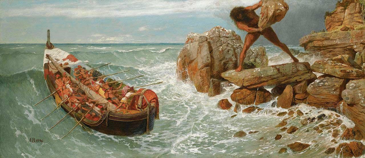 """В Греции нашли глиняную табличку с фрагментом из """"Одиссеи"""" Гомера"""