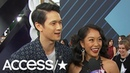 Harry Shum Jr. His Wife Dish About Their Pregnancy At The People's Choice Awards! | Access