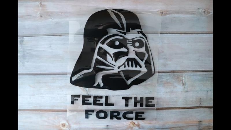 Виниловая наклейка Звездные войны Star Wars Дарт Вейдер Darth Vader Распаковка