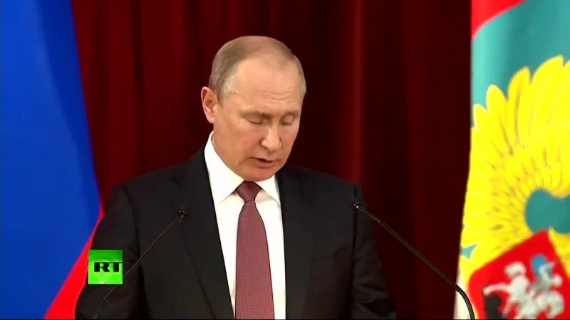 Путин о втягивании в НАТО Украины и Грузии