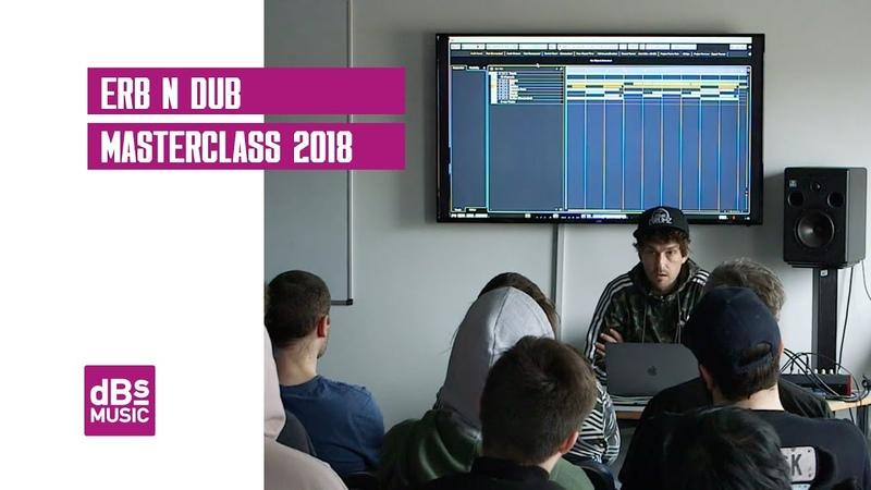 Erb N Dub Masterclass 2018 at dBs Music