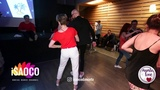 Marco Ivanyk and Marina Vanyushina Salsa Dancing in Mambolove, Monday 11.06.2018