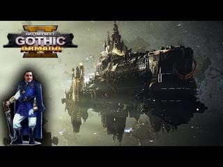 [18+] Шон играет в Battlefleet Gothic Armada 2 - стрим 10 (PC, 2019)