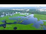 Самара с высоты птичьего полёта. Разлив реки Сок