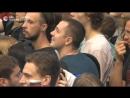Болельщики смотрят матч Россия-Хорватия на FIFA Fan Fest