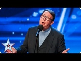 Father Ray Kelly takes us to church with AMAZING version of Everybody Hurts Auditions BGT 2018
