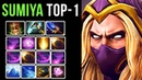 Sumiya TOP-1 Invoker Spammer on Dotabuff, Insane 8000 Matches with almost 70% WIN-RATE - EPIC Dota 2