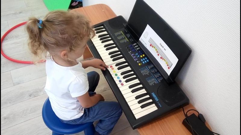 Система Фея Пиано . учимся играть на сентизаторе