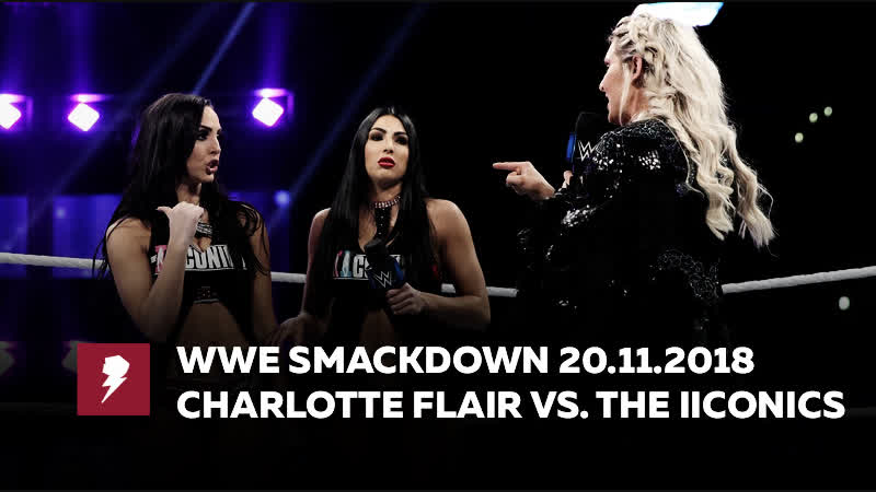 My1 Смэкдаун после Сурваер Сириес 2018 Открывающий сегмент Шарлотт против Билли Кей Шарлотт против Пэйтон Ройс
