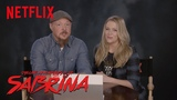 The Cast of Sabrina The Teenage Witch Reacts | Netflix