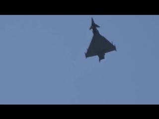 Eurofighter Typhoon Air show 2018 Poznań