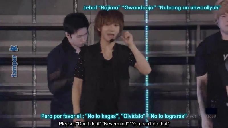Shake It Up! -SUPER JUNIOR [Romanji English Subs Español]