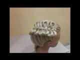 Причёска бантики из волос