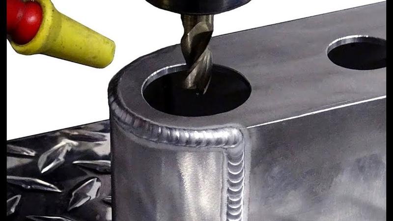 TIG Welding Aluminum Fabrication - Whacker Guard - (Water Manifold 2 of 3)