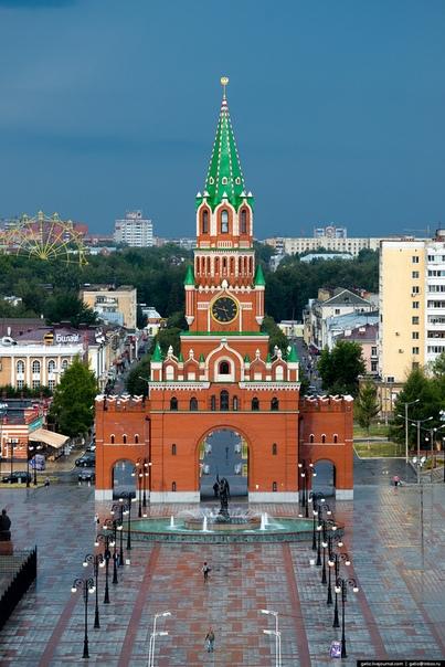 Йошкар-Ола - красный город Год основания: 1584 г. День города отмечается 6 августа. Поздравляем!