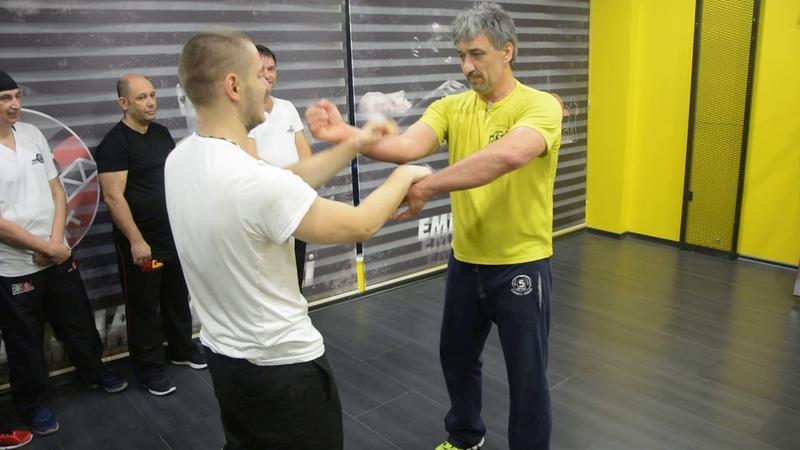 Emin Boztepe Chi Sao Training 01
