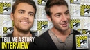 Paul Wesley James Wolk Explain Fairy Tale Drama TELL ME A STORY at Comic Con 2018