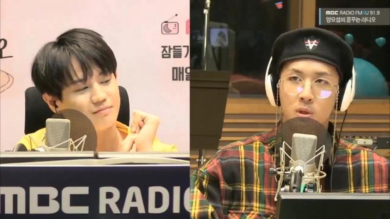  180912  Ravi @ MBC FM4U Yang Yoseob's Dreaming Radio