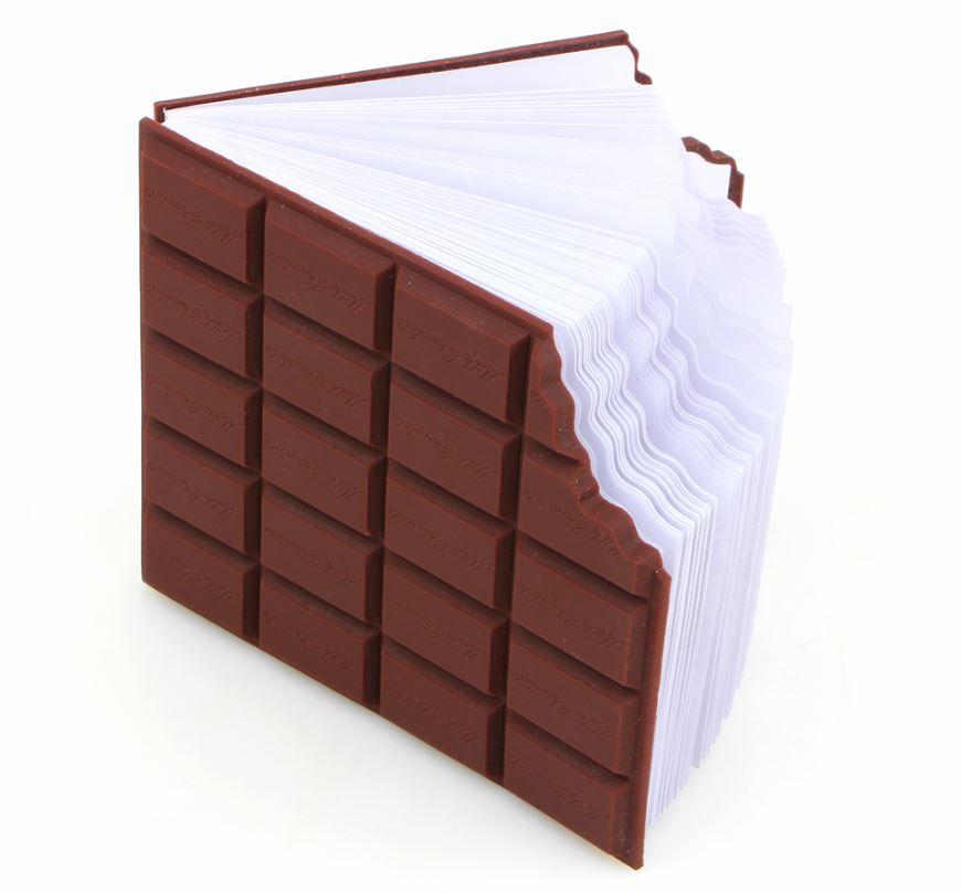 Стикеры в виде шоколадки -
