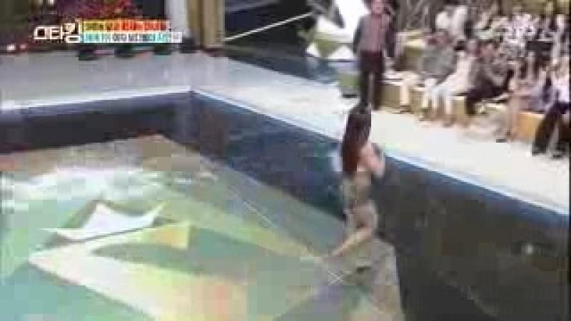SNS 화제! 세계 1위 여자 보디빌더 '지연우' @스타킹 446회 20160419_low.mp4