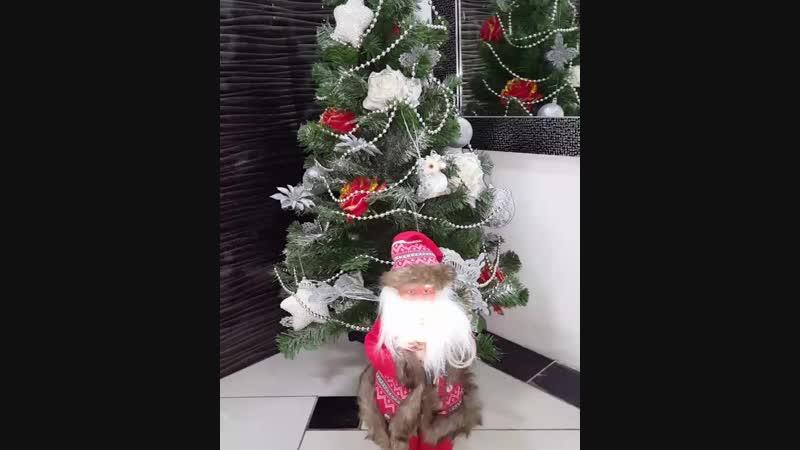 🎄А это наша красавица ЁЛОЧКА 🎄🎄🎁🎁 А песенку поет дедушка Мороз из магазина Веселая затея, который ждет своих покупателей