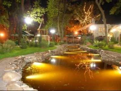 Освещение загородного дома и участка