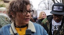 Zendaya at the Women's March on Washington
