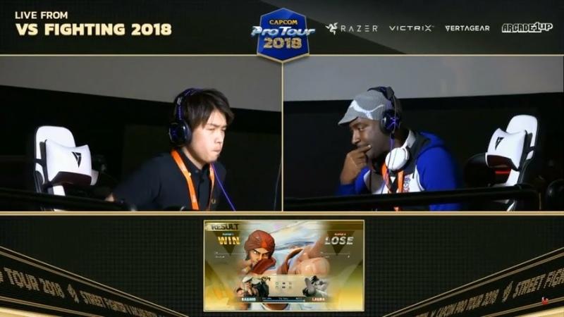 BBR VS FIGHTING 2018 SFV AE - GACHIKUN vs WILL2PAC