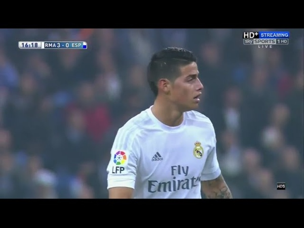 Real Madrid vs Espanyol 6-0 Extended Highlights [ ENGLISH Commentary ] LaLiga 31.01.2016