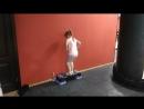 Юная Чемпионка показывает мастер класс своей маме Надежде Доле и на м умница