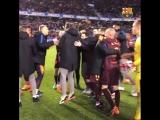 Чемпионский матч «Барселоны»