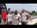 Рома приехала в тренировочный центр команды Нью Йорк Ред Буллс