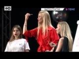 #ВТЕМЕ Беременная Регина Тодоренко располнела на сушках и прочла лекцию