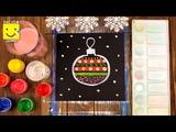 Как нарисовать новогодний шар на елку How to Draw a Christmas Ornament Easy and Cute