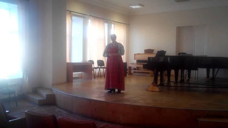 Рыбакова Дарья - Фестиваль Краски народов мира в Екатеринбурге 14.02.2015