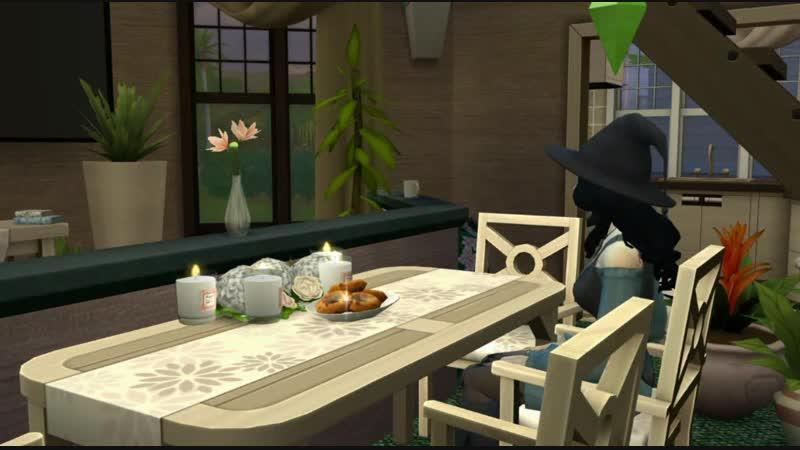 Строим дом ведьмочки в Sims4