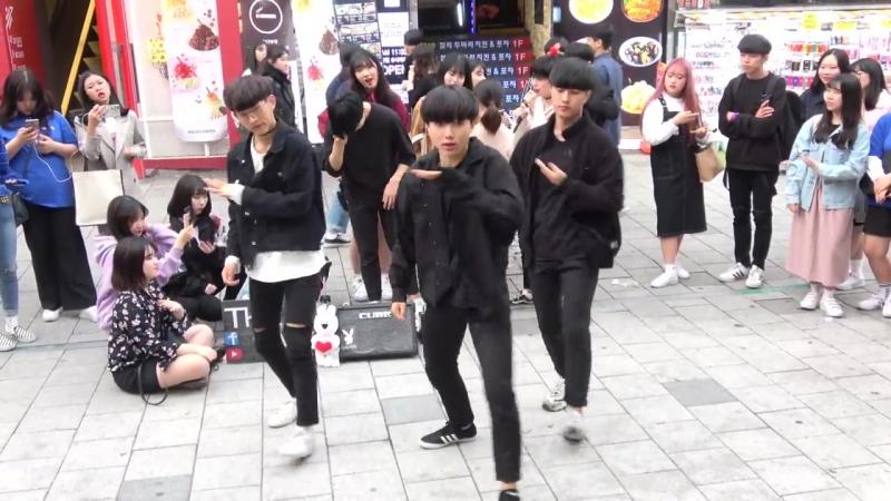 댄스팀 더데이(The day) - JBJ - 꽃이야 (My Flower) - 홍대 버스킹2018.05.06.일.hnh.