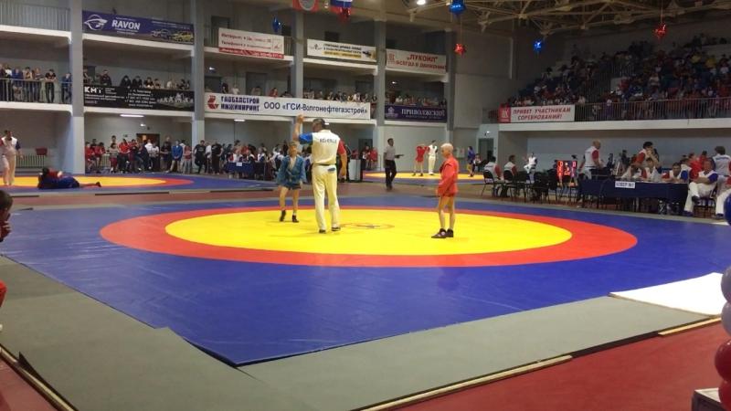 Россия 🇷🇺 2018 Толя в 35 кг 3 встреча