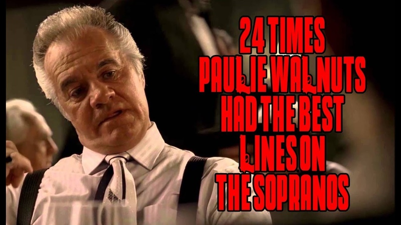 24 Times Paulie Walnuts Had The Best Lines On The Sopranos