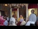 Последнее явление Св. даров, Престольный праздник храма в честь Св. Луки Крымского военного госпиталя, г. Рязань, 11-06-2018