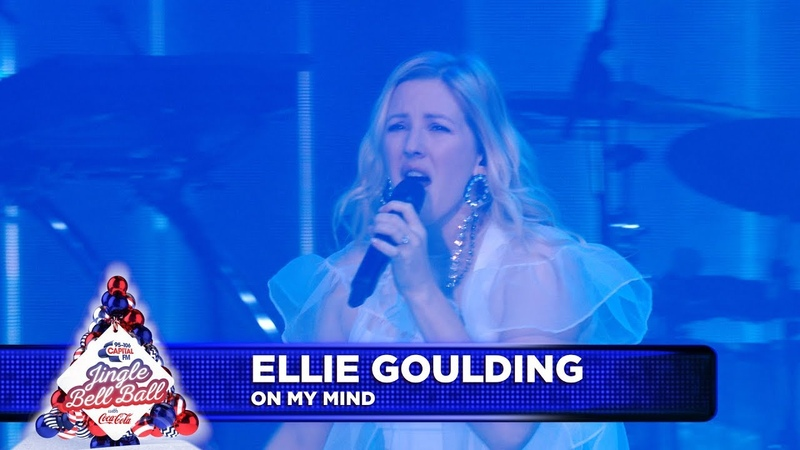 Ellie Goulding 'On My Mind' Live at Capital's Jingle Bell Ball 2018