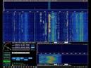 Приём радиолюбителей в 80-ти метровом диапазоне на rtl-sdr v3 донгл.