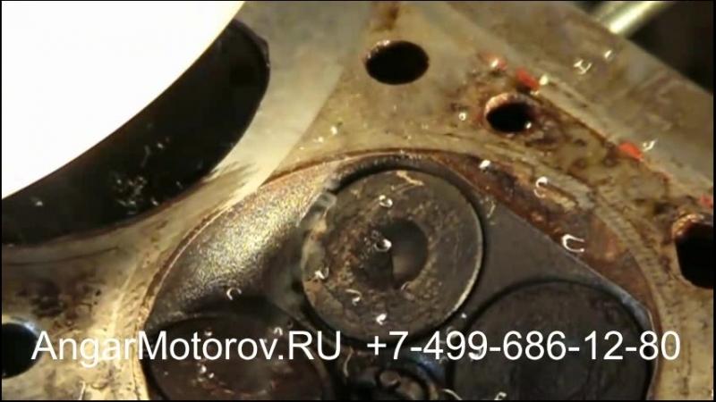 Ремонт Головки Блока (ГБЦ) Audi A4 2.0 TDI Шлифовка Опрессовка Сварка Восстановление постелей