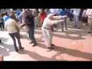 Дед танцует dub step ))