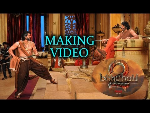 Baahubali 2 : The Conclusion Making Video || IndianEpicPicture | Myra Media