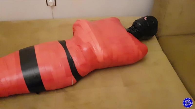 PVC Tape Bongade Mummification