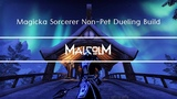 ESO - Magicka Sorcerer Non Pet Dueling Build Elsweyr Ready