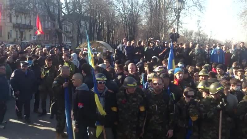 Одесса гонит правосеков. 30 марта 2014-го.