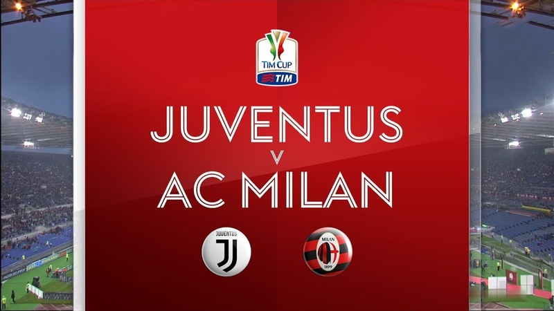 Juventus vs AC Milan ● Full Match HD ● 🏆 Final Coppa Italia 17/18